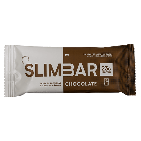 Barra Slimbar Chocolate 60gr.