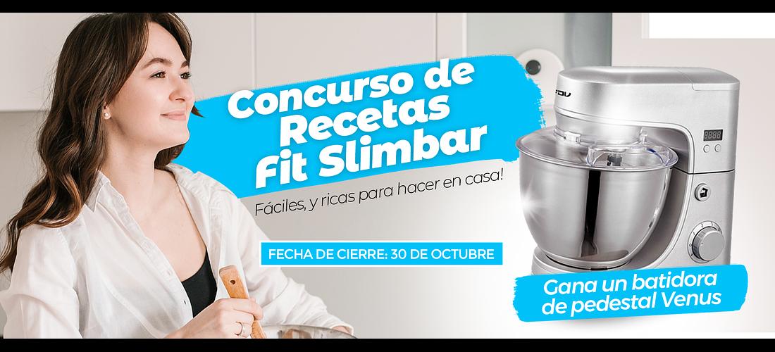 CONCURSO DE RECETAS FIT SLIMBAR - BASES Y CONDICIONES
