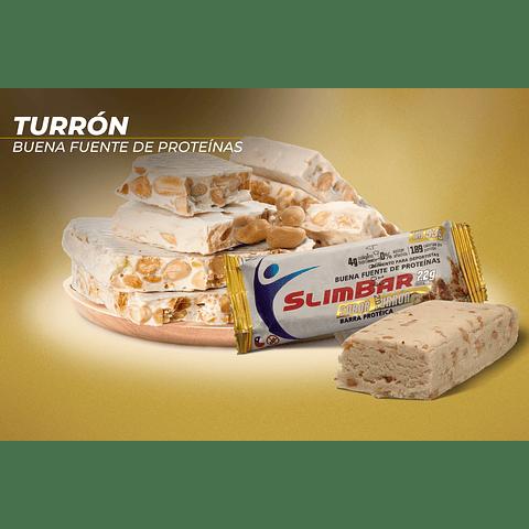 Barra Slimbar Turrón 53gr.