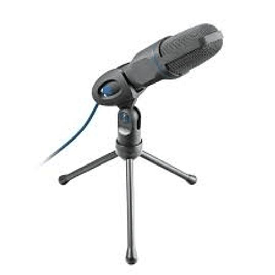 Micrófono Condensador Gamer Trust Gxt 212 Mico Negro
