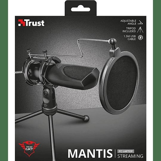 Micrófono Gamer Trust Gxt 232 Mantis Streaming Anti Pop