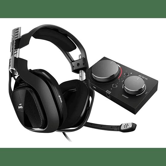 Audifono Gamer Astro A40 Tr + Mixamp Pro Tr 4° Gen Xbox/pc