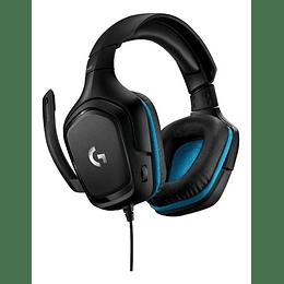 Audifono Gamer Logitech G432 Surround 7.1 Sonido 20hz-20khz