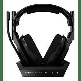 Audifonos Gamer Astro A50 + Base De Carga Para Pc Y Ps4