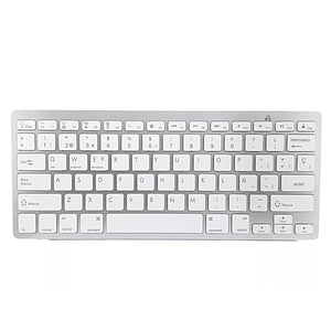 Teclado Bluetooth Tipo Mac Blanco