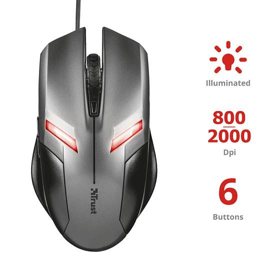 Mouse  Gamer Trust Ziva - Image 2