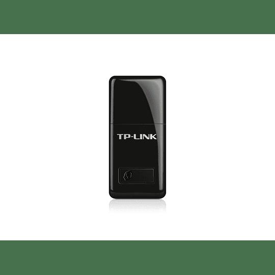 Mini Adaptador WiFi USB Inalámbrico N de 300Mbps TL-WN823N - Image 1