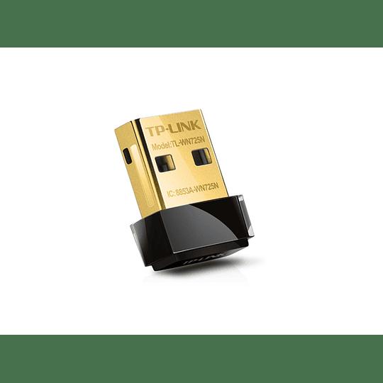 Adaptador WiFi USB Nano Inalámbrico N de 150Mbps TL-WN725N - Image 1