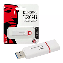 Pendrive Memoria Usb 32gb Datatraveler G4 Kingston C/tapa