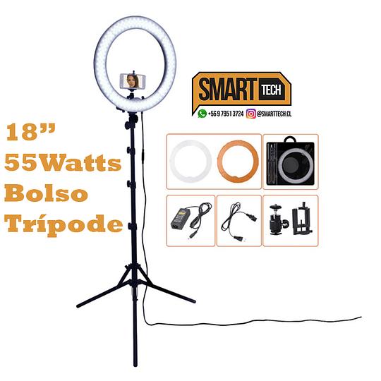 Aro led 18 pulgadas + bolso + tripode  - Image 3