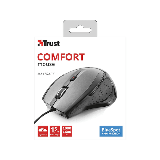 Mouse Con Cable 6 Botones Comfort Maxtrack - Trust  - Image 3