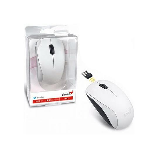 Mouse inalambrico Genius con adaptador
