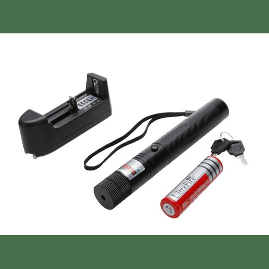Apuntador Laser Verde Larga distancia recargable + cargador - Image 2