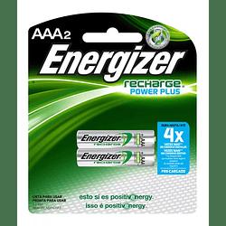 Pilas Recargables Energizer Tamaño AAA