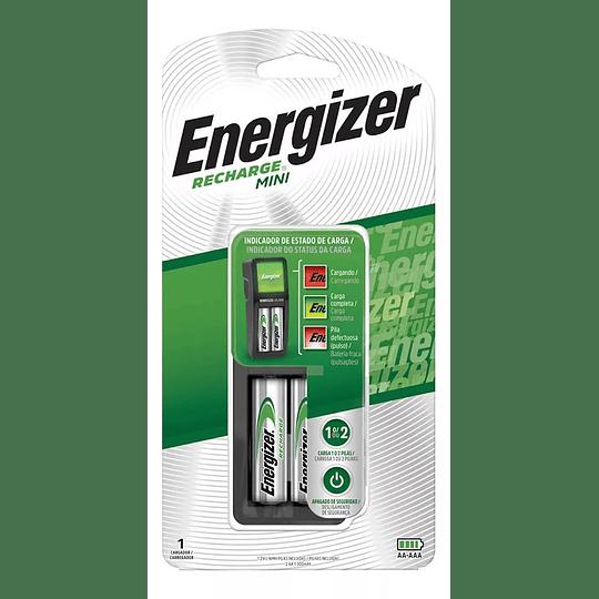 Cargador De Pilas AA Y AAA + 2 Pilas Energizer AA - Image 1