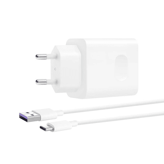 Huawei Cargador Super Charge + Cable 5a Tipo C 40watts