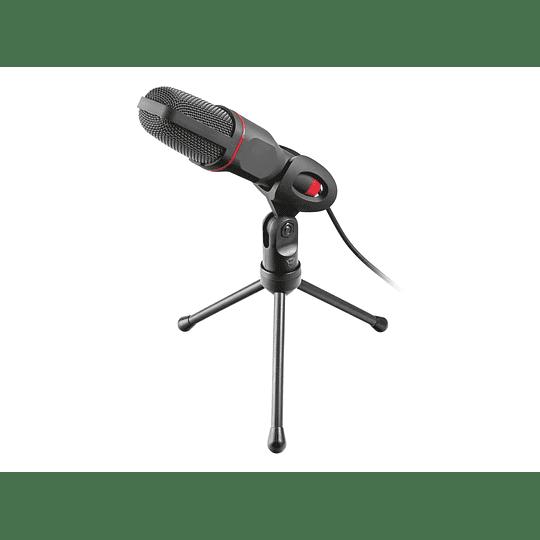 Micrófono Condensador Gamer Trust Gxt 212 Mico Negro - Image 1