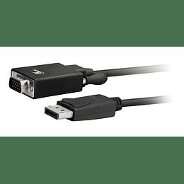 Cable Displayport A Vga Macho 1.8m 1080p 60hz Dp