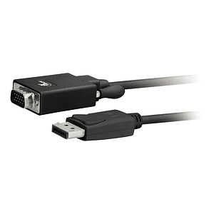 Cable Displayport A Vga Macho 1.8m 1080p 60hz Dp
