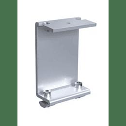 Mini rail support rear leg 5°