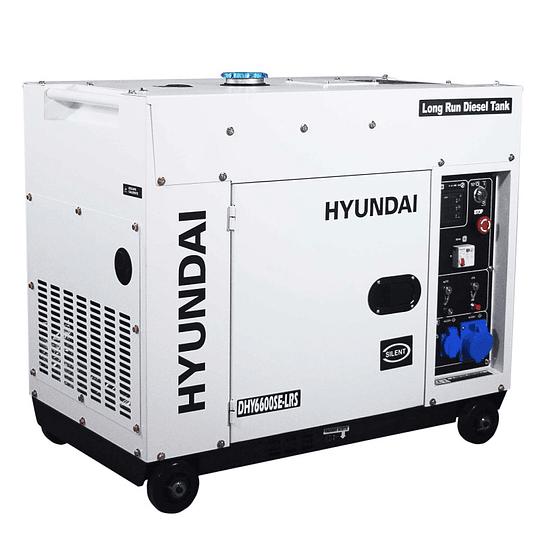 GERADOR HYUNDAI DIESEL HY-DHY6600SE-LRS - 3000rpm