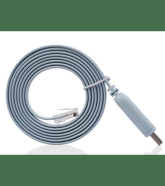 Cabo conversor USB/RJ45