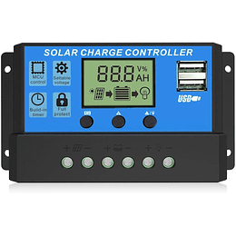 10A/20A/30A 12V/24V Solar Charge Controller