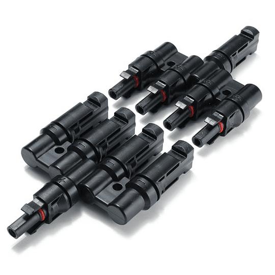 Conector MC4  Quadruplo M/F/F/F/F