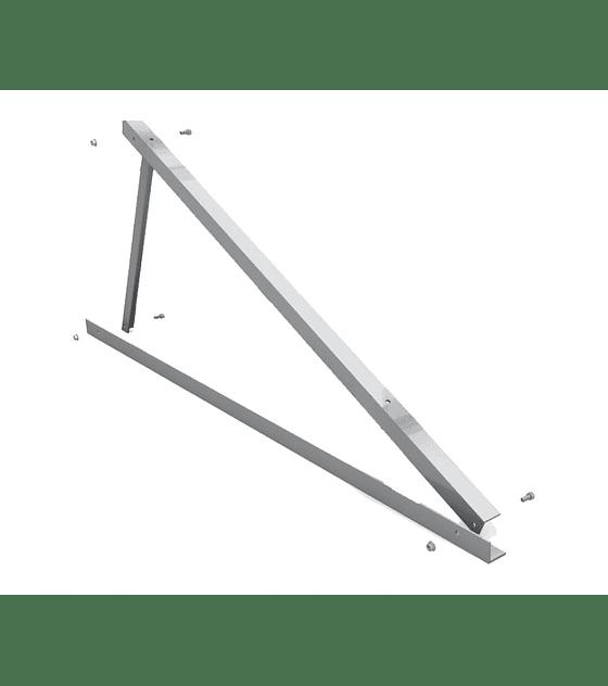Triângulo alumínio 30º