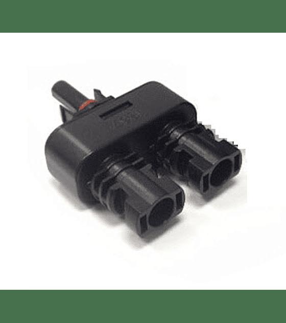 Conector MC4  Duplo M/F/F