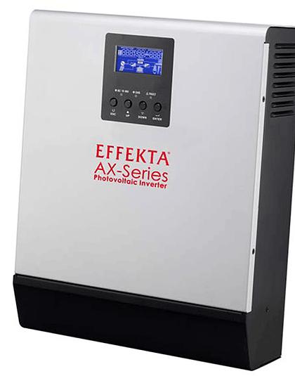 Inversor Híbrido Effekta AX Series 2000VA Plus MPPT
