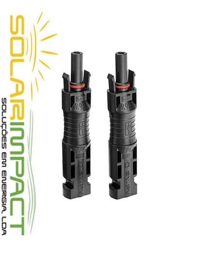 Conectores MC4 com diodo