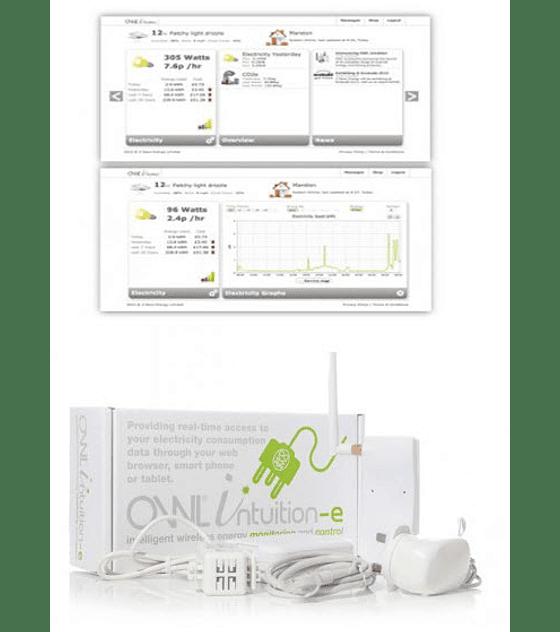 Monitor de consumo OWL Intuition-e (monofásico 1 x sensor 71A)