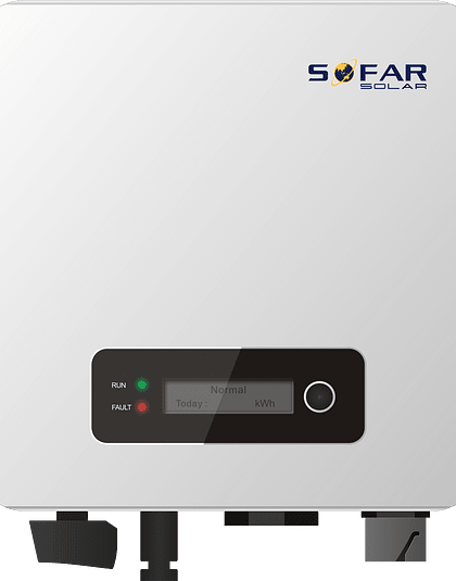 SOFAR 3300TL-G3 com Wifi e DC switch