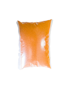 Arena de cuarzo  naranja (1kg)