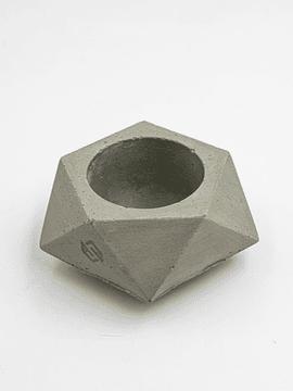Macetero Diamante - Deco Hormigón