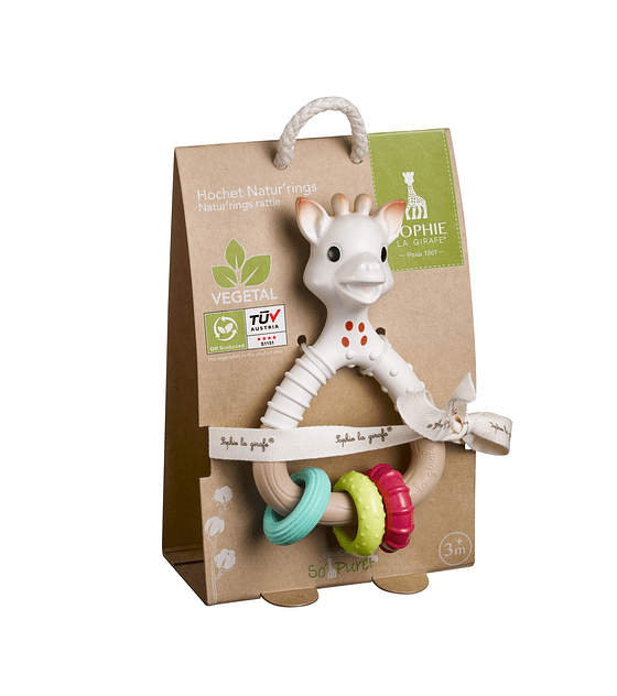 So'pure Natur'rings rattle