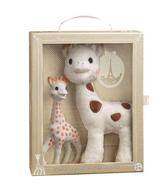 Sophie la Girafe & Sophie Cherie Gift set