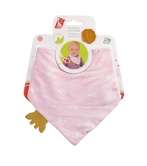 Bandana to chew - Pink