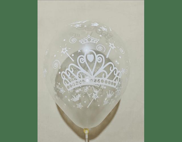 Globo corona de Princesa Helio