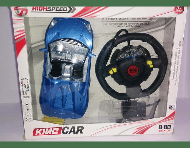 King Car  Coche de Control Remoto Batería Recargable 633-25C