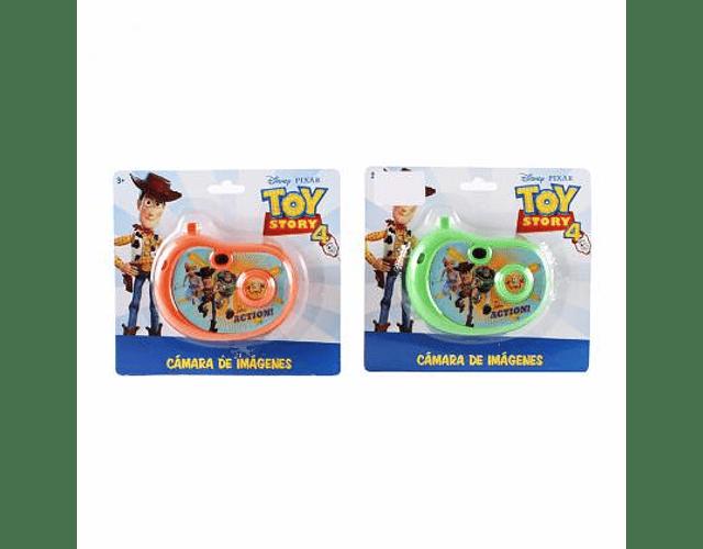 Cámara con imágenes Toy Story