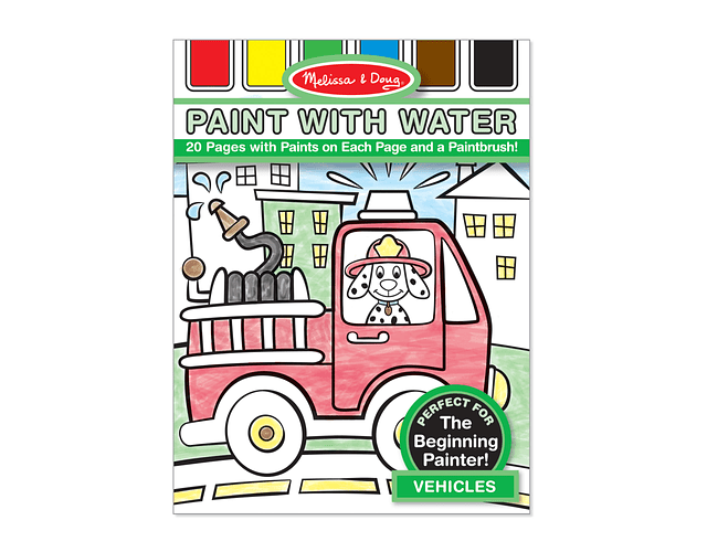 Paint with Water- Vehicules