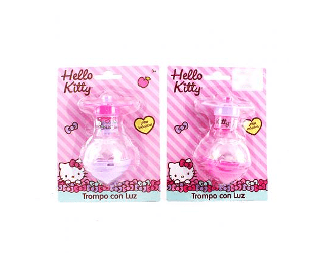 Trompo con Luz Hello Kitty