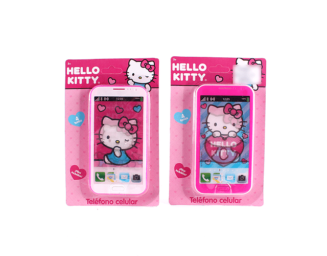 Iphone con Sonido Hello Kitty