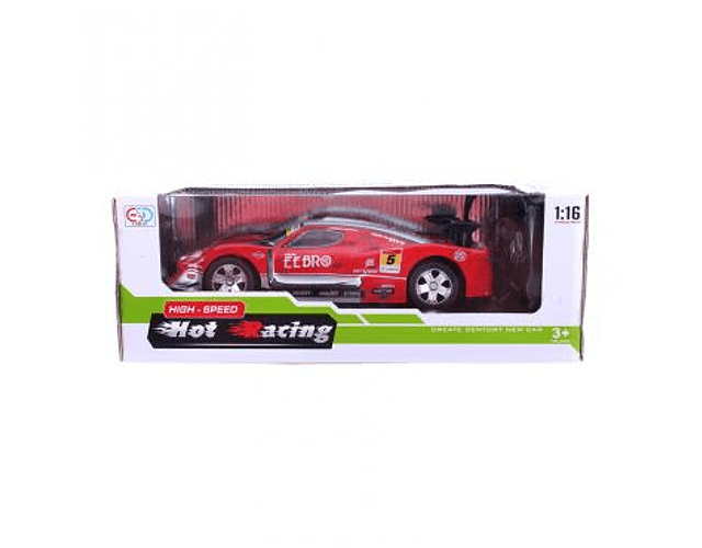 Auto de Control remoto Hot Racing bateria recargable