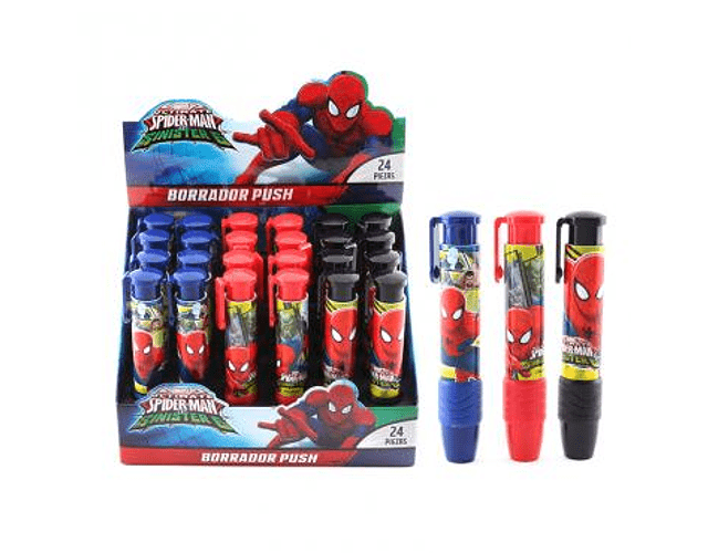 Borrador Spiderman PUSH