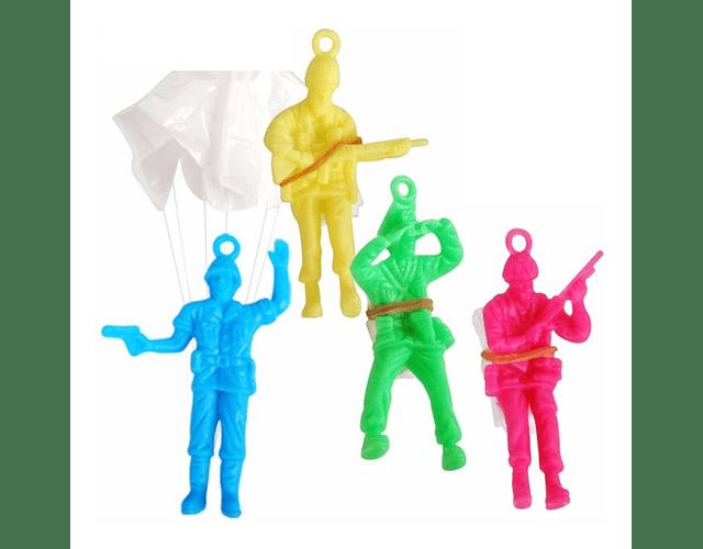 Soldado con paracaidas