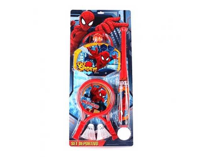 Set Deportivo Spiderman