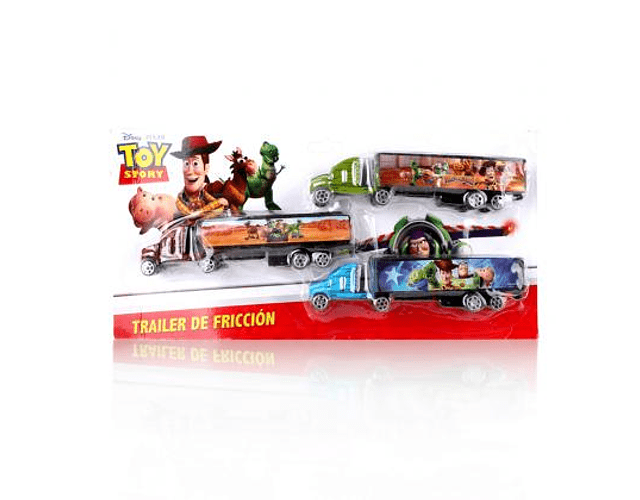 Trailers friccion 3 pzas toy story
